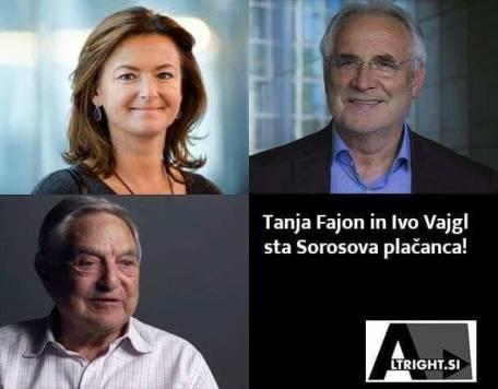 Tanja Fajon evroposlanka iz kvot SD je, prav tako kot Ivo Vajgl na plačilnem seznamu George Sorosa