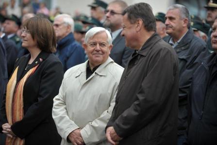 Milan Kučan in župan Ljubljane ter predsednik Pozitivne SlovenijeZoran Jankovič