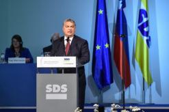 Viktor Orban med nagovorom na kongresu SDS 2017